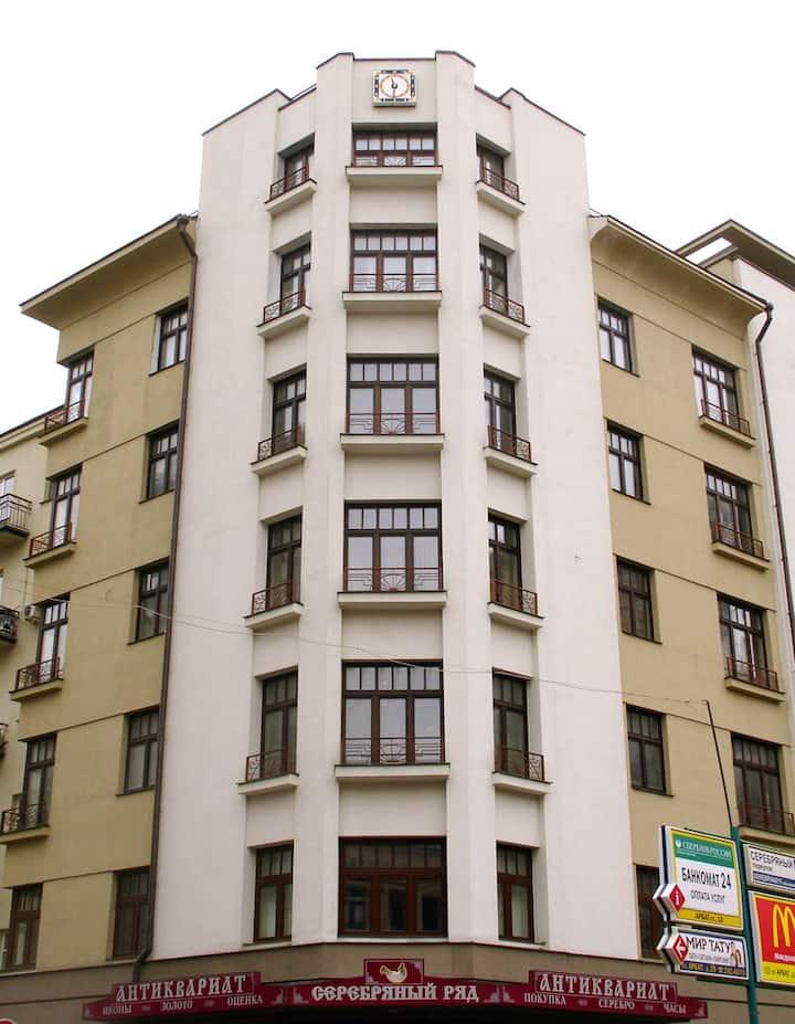 Место обеда Пушкина и Булгакова