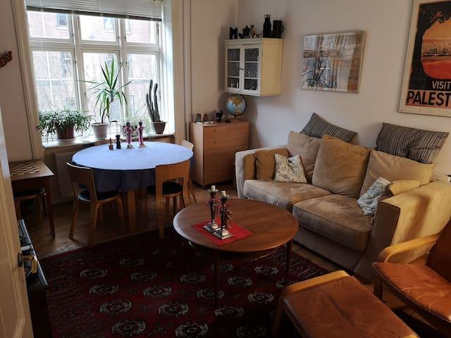Lækker lejlighed, centralt i København.