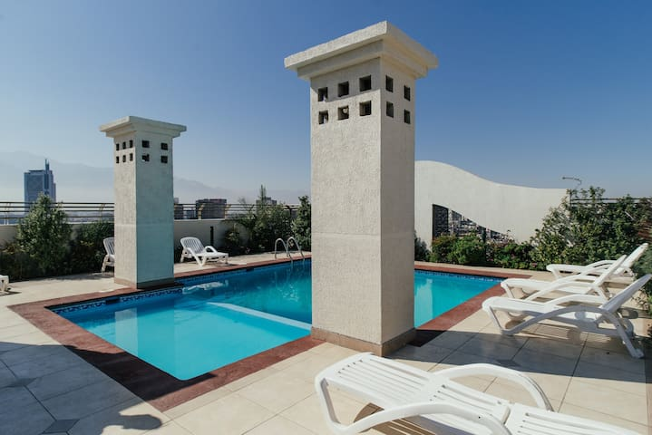 Forestal Park, Pool & great views. - Recoleta - Apartmen