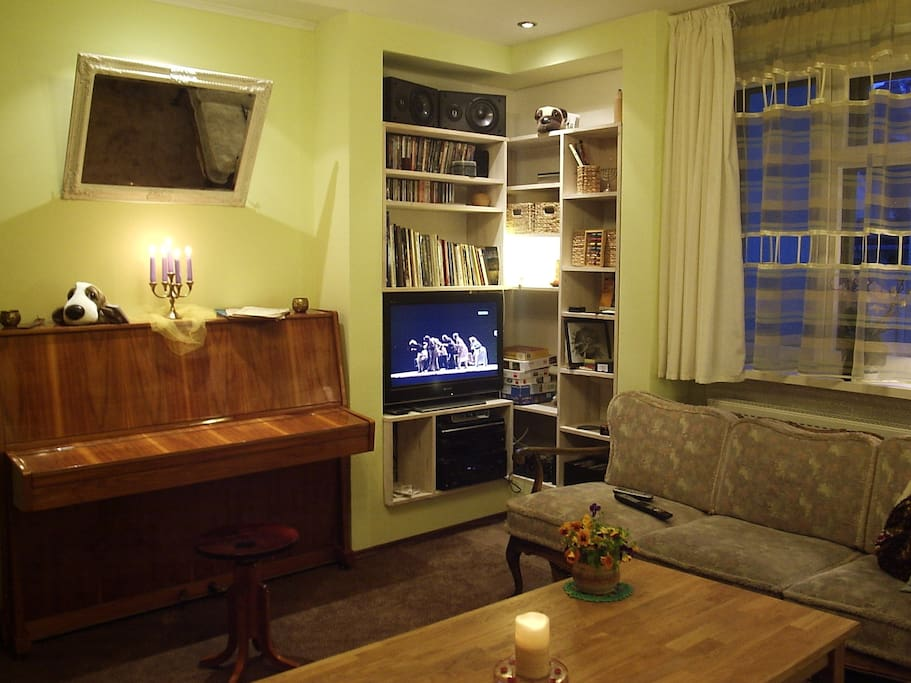The Lounge; except that the piano is now different