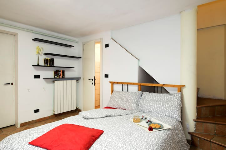 Double room with private bathroom - Milano - Bed & Breakfast