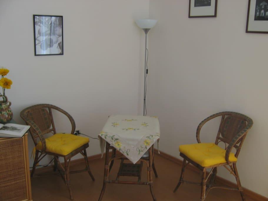 Angolo relax appartamento giallo