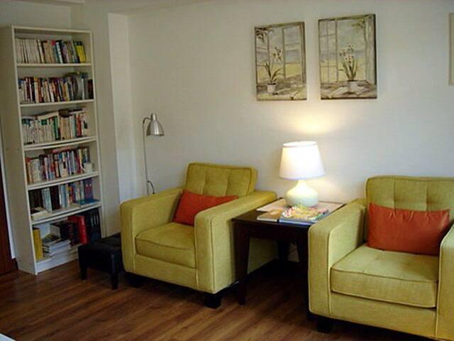 有閣樓有壁爐的房子~綠風房Green Room+禪房Zen Room - Longtan Township