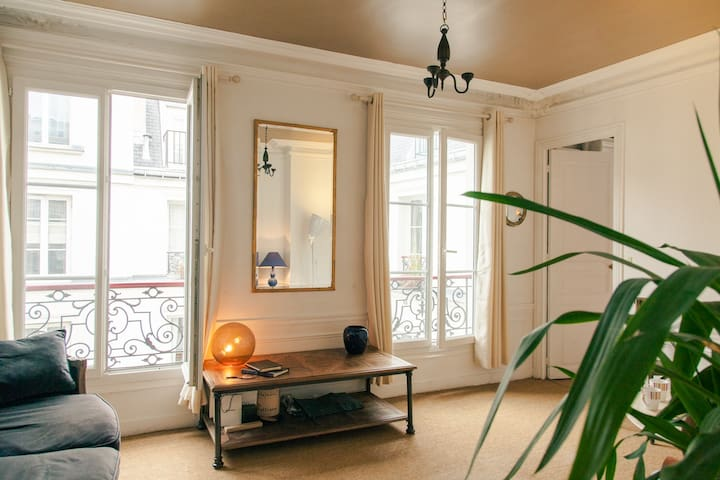 Chic sunny flat in historic Marais