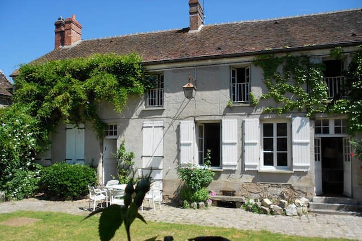 Grande maison près de Fontainebleau - Villiers-sous-Grez - บ้าน