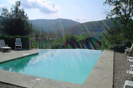 Vinsanto apartment with pool - Pieve A Presciano