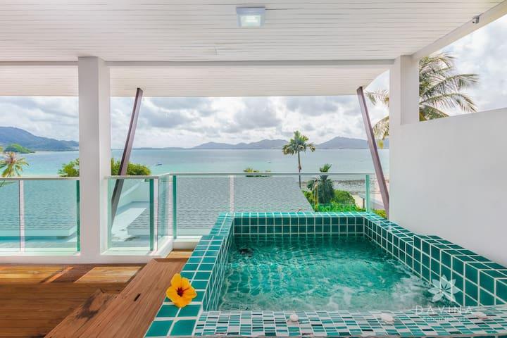 Ocean View Loft Apart w/ Jacuzzi - Wichit - Lägenhet