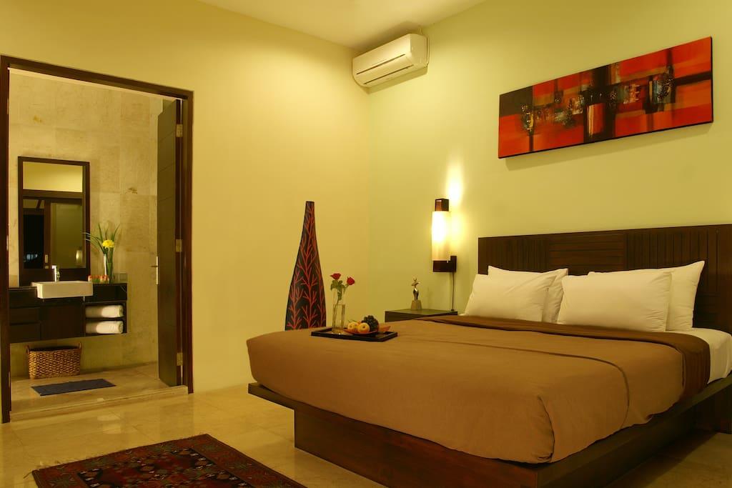 Bedroom 2 on the second floor