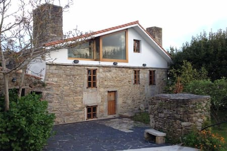 Lovely stone house near the coast with barbecue - Malpica