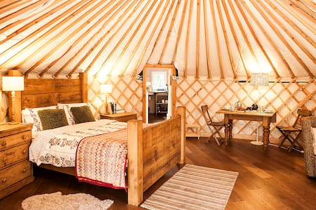 The Rowan Yurt - Holmfirth, Yorkshire - Khemah Yurt