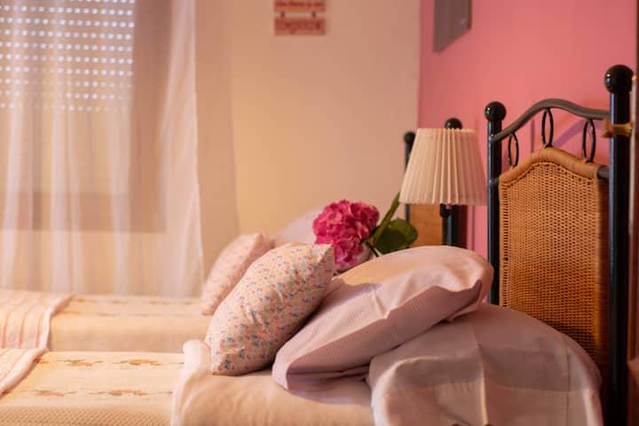 """Somo """"Casa tiapi"""", ideal para surferos y familias."""