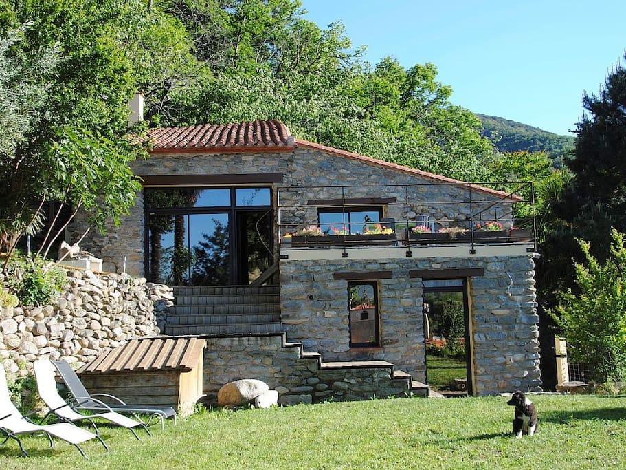 Beau mas catalan au calme casas en alquiler en finestret languedoc rosell n francia - Casa en catalan ...