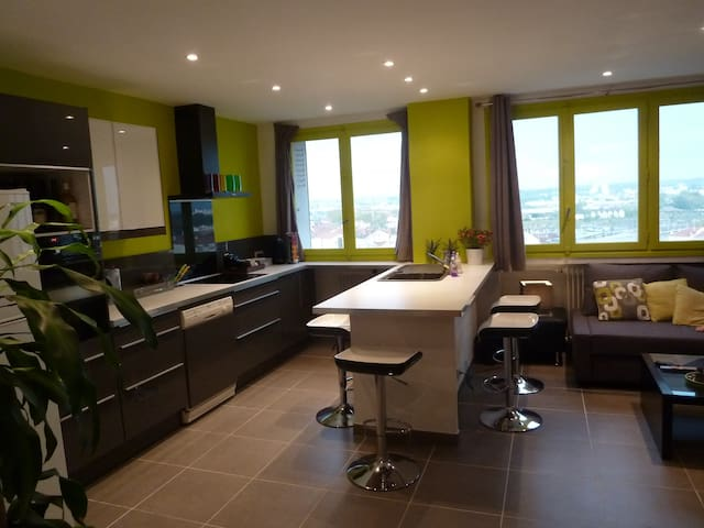 Appartement Oullins Metro B - Oullins - Apartmen