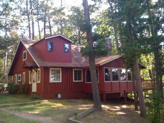 The Homestead Cabin on Little St. Germain Lake