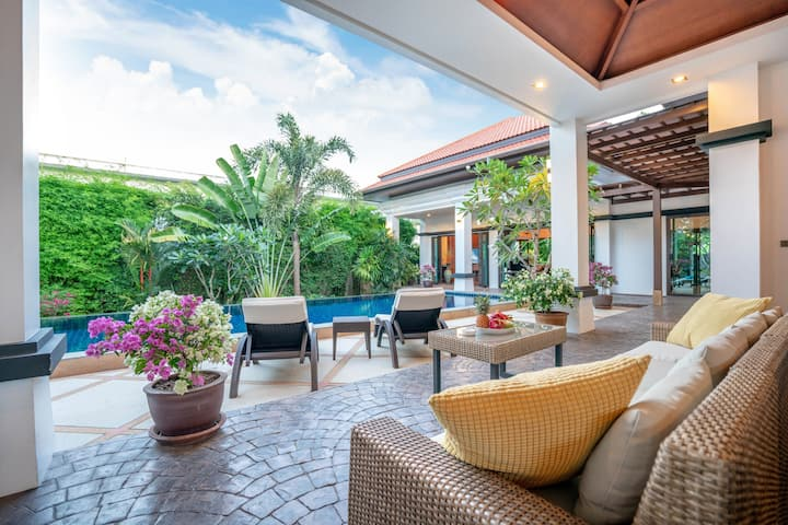 2-br.Luxury Private Pool Villa Frangipani Bang Tao
