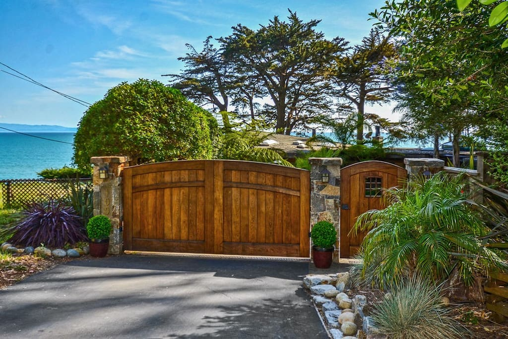 Private, gated, oceanfront proprety