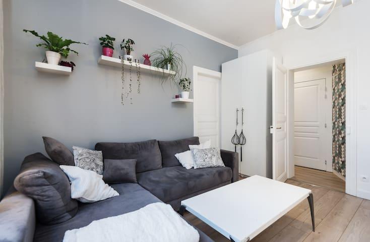 60 m2 wifi parking gratuit balcon - Schiltigheim - Departamento