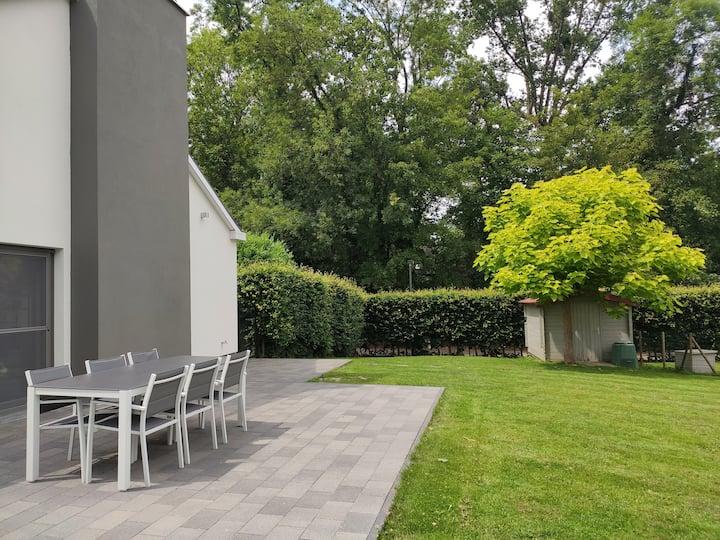 Gezellige woning met tuin tussen Brussel en Leuven