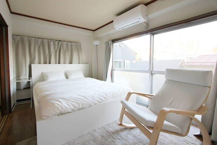 Yoyogi Sta.5min walk casual apartment w/Wi-Fi - Shibuya-ku - Casa