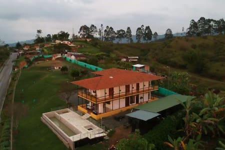 Casa quinta Hacienda Cafetera