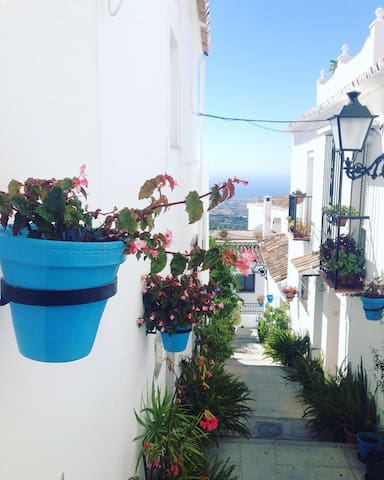 Appartment center of Mijas pueblo