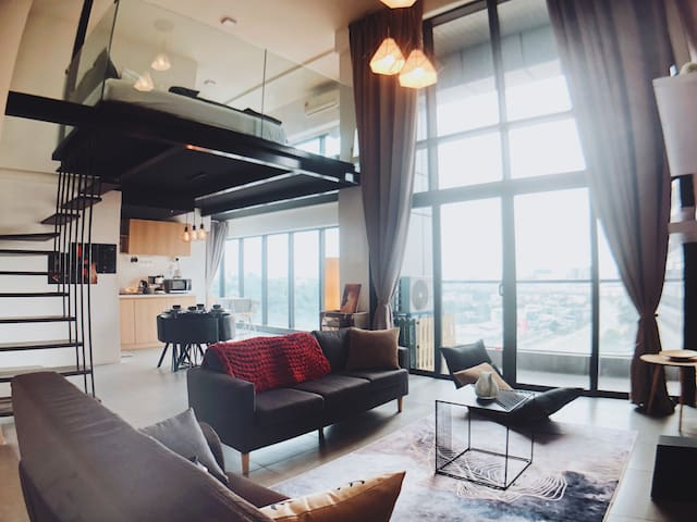 Cozy【Totoro Loft 】@ Damansara with WiFi & Netflix