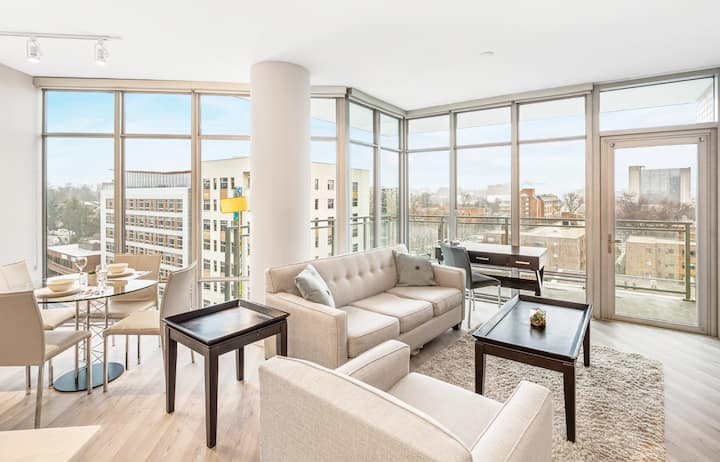 Lux Furnished | 2BR Apartment | Bethesda | by GLS