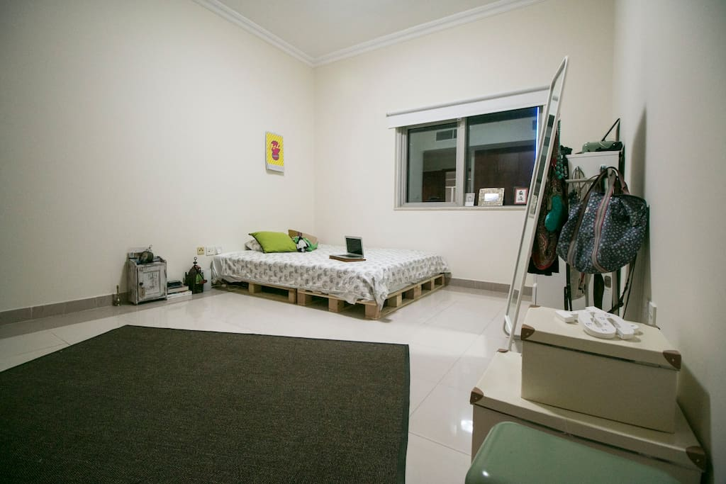 There room is a very large master bedroom with ensuite