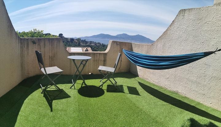 Très bel appartement - Terrasse - Superbe Vue Mer