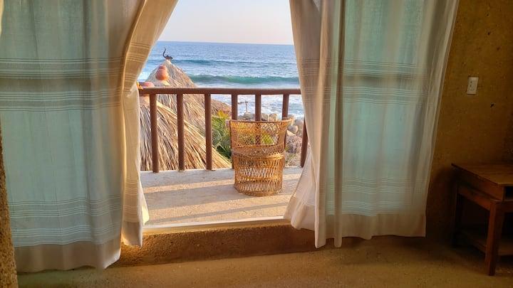 """habitacion con vista al mar en playa ventura """"8"""""""