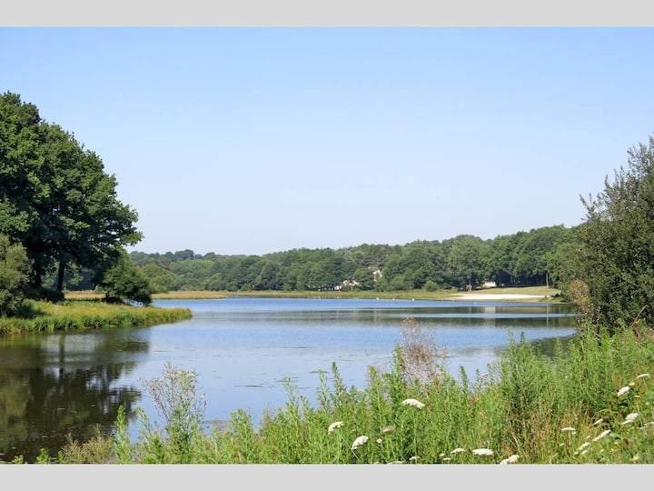 Chalet 4 pers. avec vue lac - Morbihan
