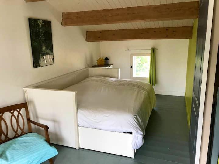 Chambre avec SDB privative près de La Rochelle