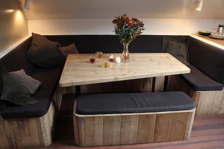 Room on Loungeclipper 15 min to Centre (No 2) - Amsterdam - Boot