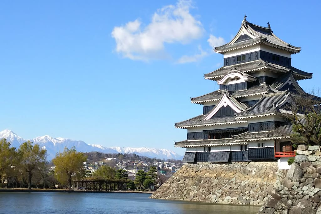 Matsumoto Castle 10mins walk from my house
