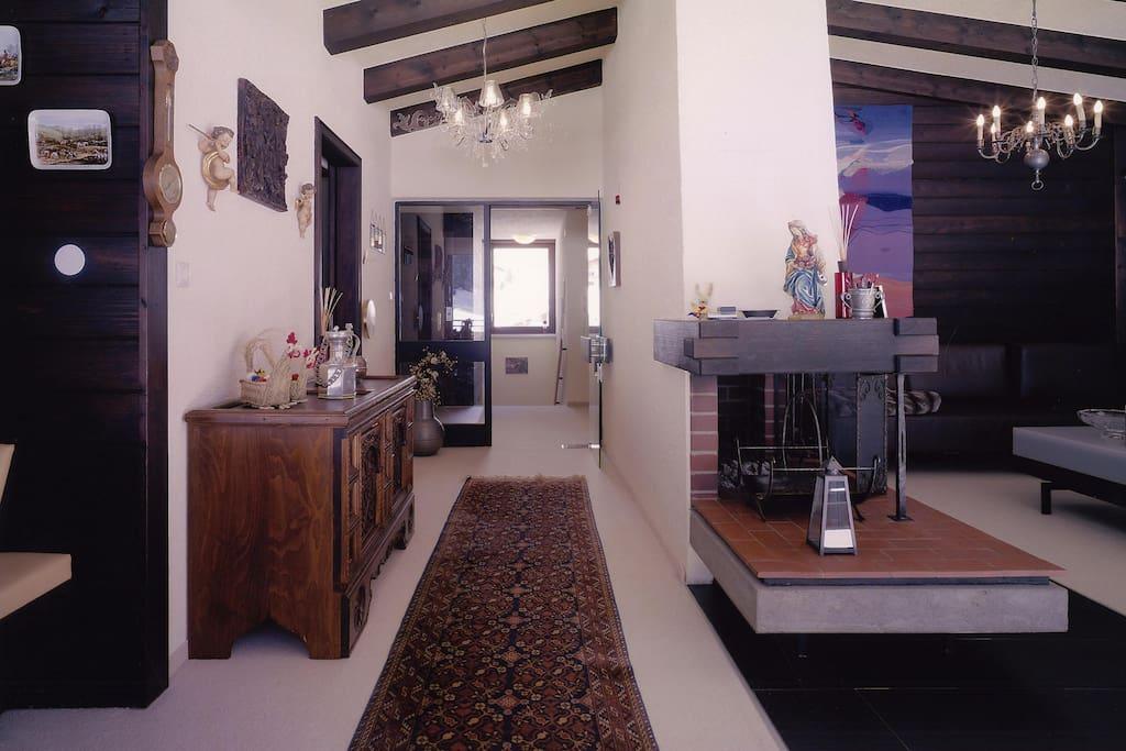 Eingang in den Wohnbereich