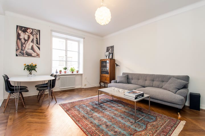 Studio apartment in Sofo Södermalm