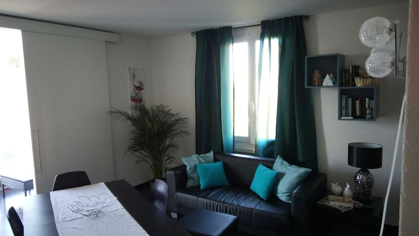 Private room in a nice and modern apartment - Prilly - Daire