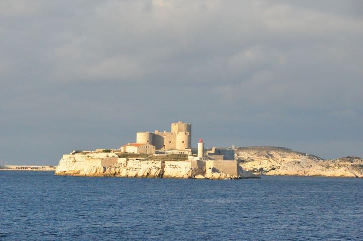 Séjour de Charme terrasse sur la mer - มาร์เซย์ - บ้าน
