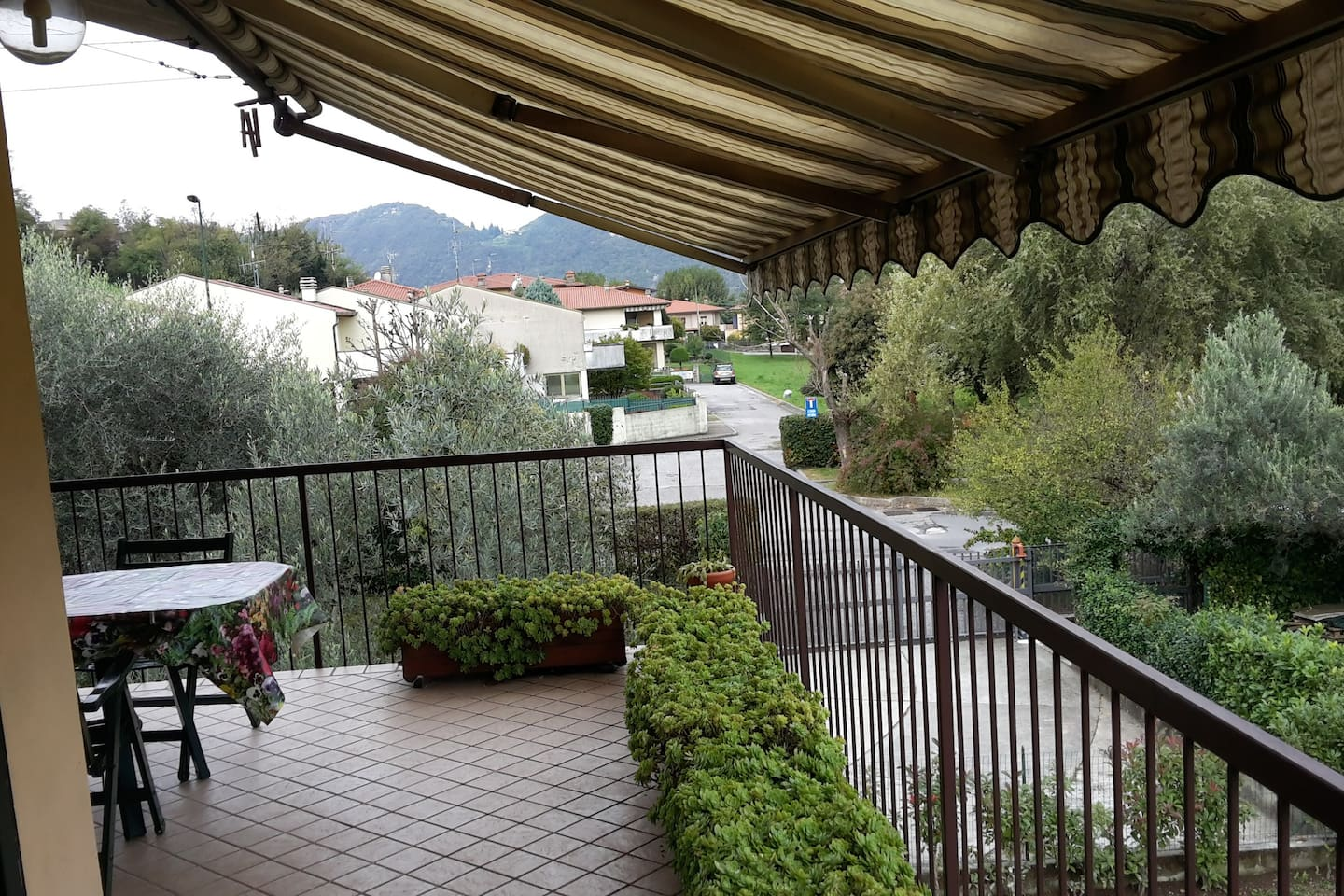 Part of the terrace