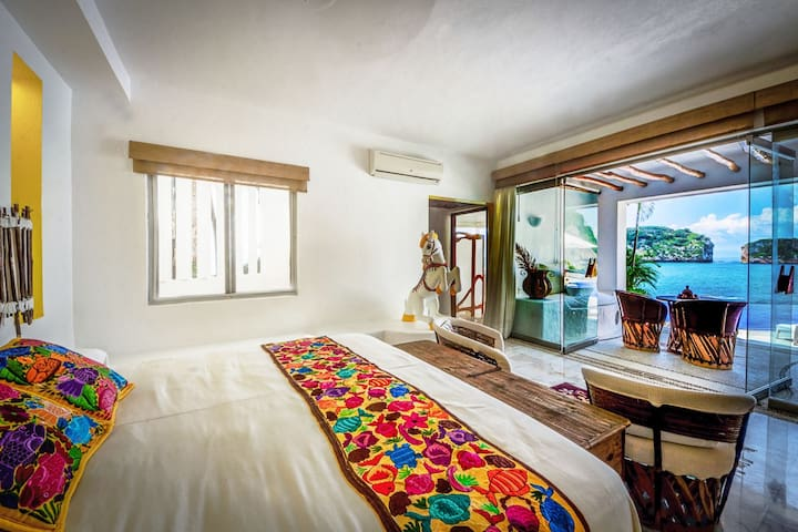 3 BR Spectacular House , gorgeous View to the bay! - Puerto Vallarta - Haus
