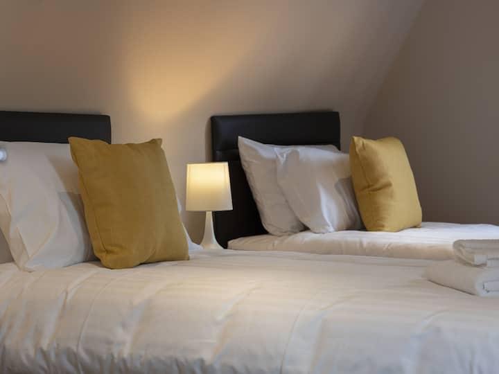 Campion - Twin room, North Molton,