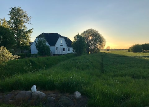 Historische Deense boerderij  Eged Teglværksgården
