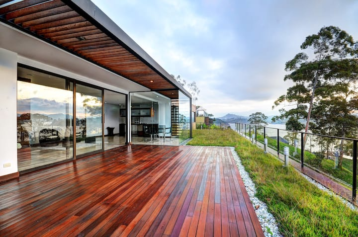 Chalet with amazing views