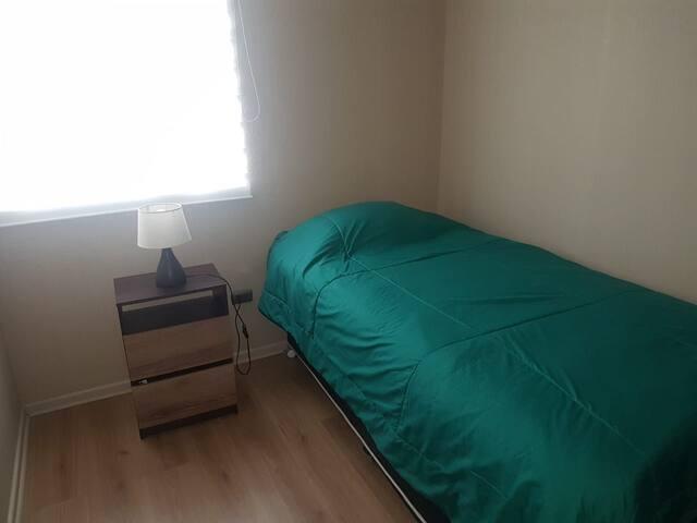 Dormitorio privado en departamento Condominio