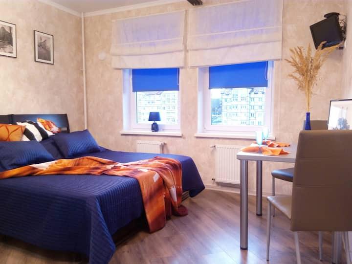 Квартира-студия на озере Тихое г. Светлогорск