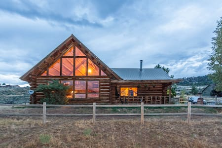 Mountain Rustic Log Home Vacation! - Ridgway - House