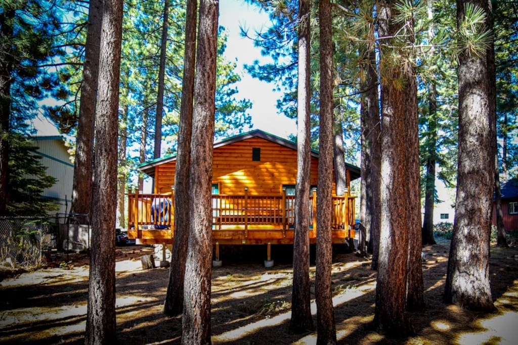 The lake tahoe chalet chalets for rent in south lake for South lake tahoe cabins near casinos