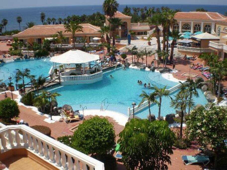 Tenerife Royal Gardens resort and swimming pool