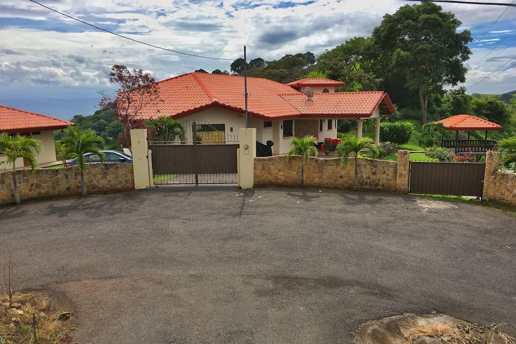 Gated Community and Gated Entrance to Property