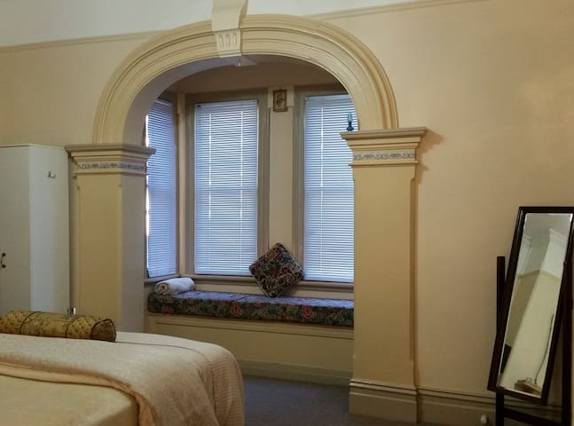 Queen Victoria Suite classic arch and window seat